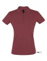 Koszulka polo damska Sols' Women´s Polo Shirt Perfect 11347 Burgundy.jpg