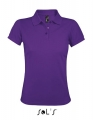 Koszulka polo damska Sol's Women´s Polo Shirt Prime 00573 Dark Purple.jpg