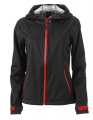 Damska kurtka Softshell James Nicholson Outdoor JN1097 Black Red.jpg