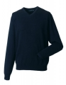 Męski sweter firmowy Russel Pullover French Navy.jpg
