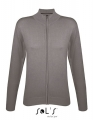 Damski sweter rozpinany Sol's Gordon medium grey.jpg
