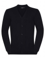 Męski kardigan sweter Russel V-Neck french navy.jpg