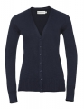 Damski kardigan sweter Russel V-Neck french navy.jpg