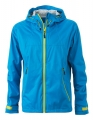 Męski Softshell James Nicholson Outdoor Jacket JN1098 Aqua Acid Yellow.jpg