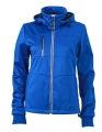 Damski Softshell James Nicholson Maritime Jacket JN1077 Nautic BLue Navy White.jpg