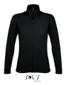 Polar damski Sol's Micro Fleece Zipped Jacket Nova Women 00587 black.jpg