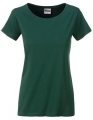 Koszula damska James Nicholson Ladies` Basic-T Dark Green.jpg