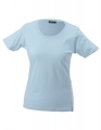 Koszulka t-shirt damska James Nicholson Workwear-T Women Light Blue.jpg