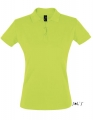 Koszulka polo damska Sols' Women´s Polo Shirt Perfect 11347 Apple Green.jpg