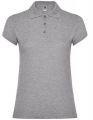 Koszulka polo damska Roly Star Poloshirt heather grey.jpg