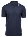 Koszulka polo męska Luxury Stripe Stretch Polo 1407 Navy White.jpg