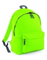 Plecak firmowy Original Fashion Backpack z logo lime green graphite.jpg