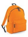 Plecak firmowy Original Fashion Backpack z logo orange graphite grey.jpg