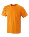 Koszula t-shirt męska James Nicholson Workwear-T Men Orange.jpg