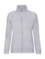 Damska bluza rozpinana na zamek Fruit of the Loom heather grey.jpg