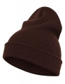 Czapka reklamowa beanie Flexfit Heavyweight Long 1501KC brown.jpg