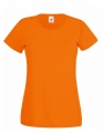 Koszulka t-shirt damska Fruit of The Loom Valueweight T Lady-Fit 61-372-0 Orange.jpg
