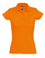 Koszulka polo damska Womens Polo Shirt Prescott 11376 Orange.jpg