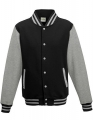 Bluza damska typu College Varsity Jacket jey black heather grey.jpg
