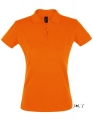 Koszulka polo damska Sols' Women´s Polo Shirt Perfect 11347 Orange.jpg