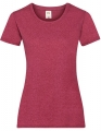 Koszulka t-shirt damska Fruit of The Loom Valueweight T Lady-Fit 61-372-0 Vintage Heather2.jpg