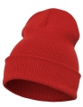 Czapka reklamowa beanie Flexfit Heavyweight Long 1501KC red.jpg