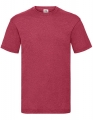 Koszulka t-shirt męska Fruit of The Loom Valueweight T 61-036-0 Vintage Heather Red.jpg