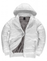 Męska kurtka firmowa z kapturem B&C Superhood JM940 White Warm Grey.jpg