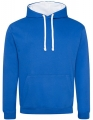 Bluza reklamowa z kapturem Just Hoods Varsity Hoodie JH003 Royal Blue Artic White.jpg