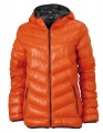 Kurtka puchowa damska James Nicholson Men's Down Jacket JN 1059 Dark Orange Carbon.jpg