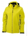 Kurtka zimowa damska James Nicholson Wintersport Softshell JN1053 Yellow.jpg