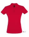 Koszulka polo damska Sols' Women´s Polo Shirt Perfect 11347 Red.jpg