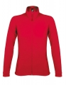 Polar damski Sol's Micro Fleece Zipped Jacket Nova Women 00587 Red.jpg