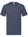 Koszulka t-shirt męska Fruit of The Loom Valueweight T 61-036-0 Vintage Heather Navy.jpg