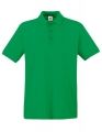 Koszulka polo męska Fruit of the Loom Premium Polo 63-218-0 Kelly Green.jpg