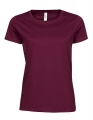Koszula t-shirt damska Tee Jays Ladies Luxury Tee Wine.jpg