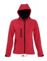 Damski Softshell Sol's Hooded Jacket Replay 46802 Pepper Red.jpg