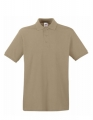 Koszulka polo męska Fruit of the Loom Premium Polo 63-218-0 Khaki.jpg