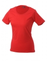 Koszulka t-shirt damska James Nicholson Workwear-T Women Red.jpg