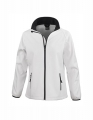 Damski Softshell Result Printable Soft Shell Jacket R231F White Black.jpg