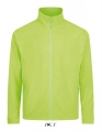 Polar męski Sol's Micro Fleece Zipped Jacket Nova Men 00586 Neon Green.jpg