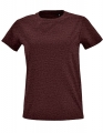 Koszulka t-shirt Fit damska Sol's Imperial L02080 Heather Oxblood.jpg