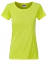 Koszula damska James Nicholson Ladies` Basic-T Acid Yellow.jpg
