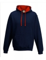 Bluza reklamowa z kapturem Just Hoods Varsity Hoodie JH003 New French Navy Fire Red.jpg