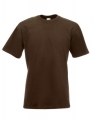 Koszulka t-shirt męska Fruit of The Loom Super Premium 61-044-0 Chocolate.jpg