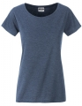 Koszula damska James Nicholson Ladies` Basic-T Light Denim Melange.jpg