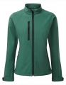 Damska kurtka softshell Russell Jacket R-140F-0 Bottle Green.jpg