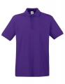 Koszulka polo męska Fruit of the Loom Premium Polo 63-218-0 Dark Purple.jpg