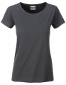 Koszula damska James Nicholson Ladies` Basic-T Graphite.jpg