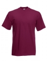Koszulka t-shirt męska Fruit of The Loom Valueweight T 61-036-0 Burgundy.jpg